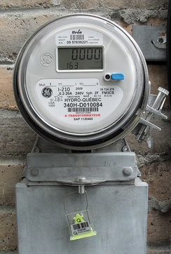 North American domestic electronic electricity meter