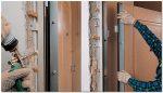Дверь железную установить – Как правильно установить входную металлическую дверь в квартиру своими руками в частном доме и квартире — видео с инструкцией