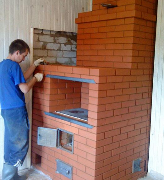 русская печь с лежанкой принцип работы