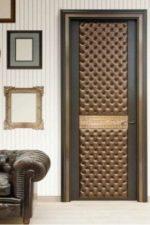 Видео обивка дверей дермантином – как обшить с утеплителем, пошаговое руководство по обшивке входной двери, как правильно обтянуть