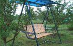Качели детские на дачу – двухместные подвесные и металлические круглые дачные и садовые варианты для детей
