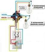 Как подключить одноклавишный выключатель – Как подключить блок розетка-выключатель в одном корпусе: схема и последовательность действий