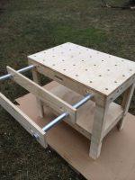 Как сделать стол на кухню из фанеры – Разборный рабочий стол из одного листа фанеры. — Как сделать своими руками?
