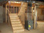 Расчет лестницы в подвал – видео-инструкция как сделать своими руками, особенности винтовых, металлических лестничных конструкций из дома в подвальное помещение, цена, фото