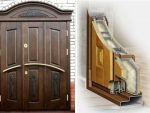 Утепленные деревянные входные двери для частного дома – Входные двери из дерева утеплённые
