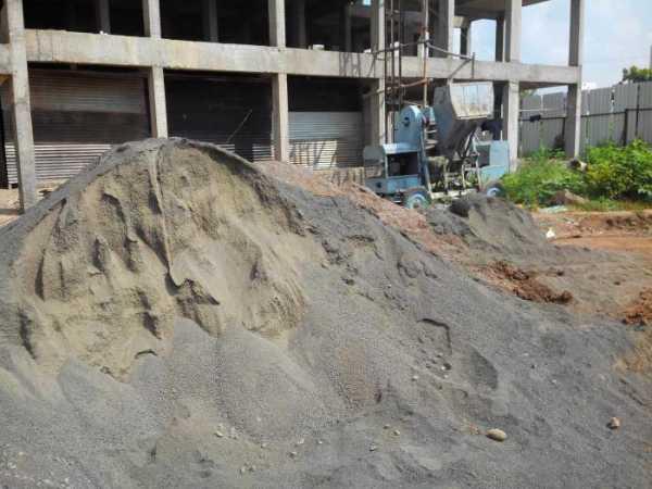 Бетон из щебня и гравия горный щит бетон