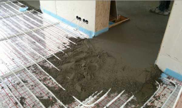 Заливают пол бетоном бетон цена за тонну в москве
