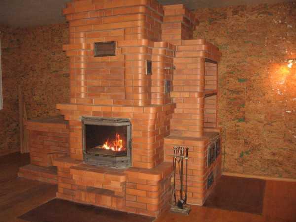 круглые печи для дома на дровах