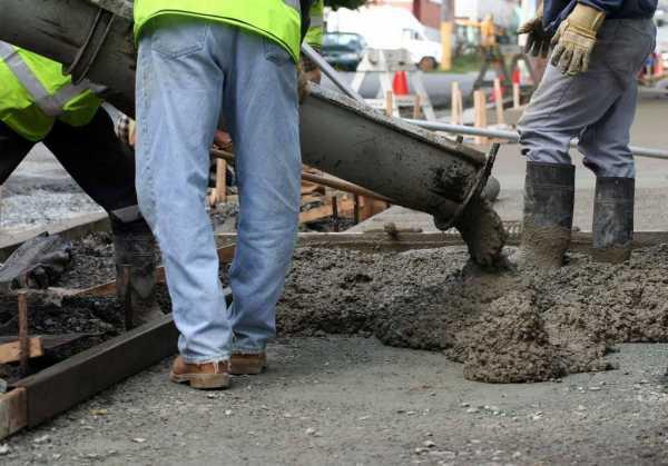 При какой температуре цементный раствор застывает как получают бетонную смесь